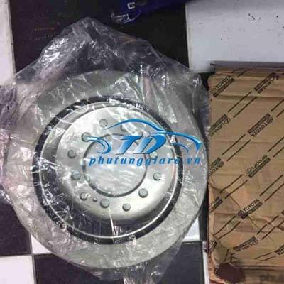 phutunggiare.vn - ĐĨA PHANH SAU PHẢI LEXUS GX460- 4352535010, sản xuất bởi Toyota