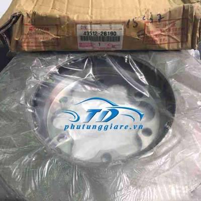phutunggiare.vn - ĐĨA PHANH TRƯỚC TOYOTA HIACE 2008-4351226190, sản xuất bởi Toyota phụ tùng chính hãng, giá tốt nhất
