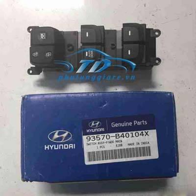 phutunggiare.vn - CÔNG TẮC LÊN KÍNH TỔNG HYUNDAI I10 GRAND-93570B40104X, sản xuất bởi Mobis, phụ tùng chính hãng, giá tốt nhất