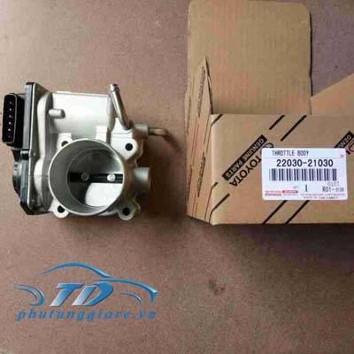 phutunggiare.vn - CỤM BƯỚM GA TOYOTA YARIS, VIOS-2203021030, sản xuất bởi Toyota phụ tùng chính hãng, giá tốt nhất