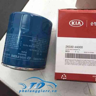 phutunggiare.vn - LỌC DẦU ĐỘNG CƠ HYUNDAI STAREX, PORTER 2, KIA BONGO 3-263304A000, sản xuất bởi Mobis, phụ tùng chính hãng, giá tốt nhất