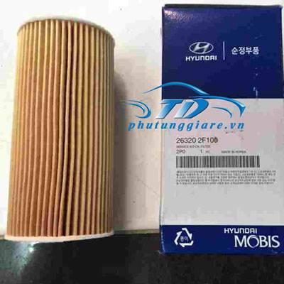 phutunggiare.vn - LỌC DẦU ĐỘNG CƠ HYUNDAI TUCSON, SANTAFE IX35-263202F100, sản xuất bởi Mobis