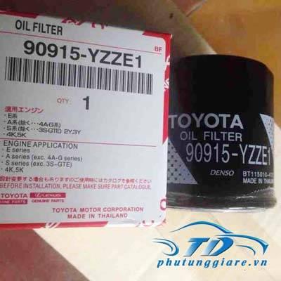 phutunggiare.vn - LỌC DẦU ĐỘNG CƠ TOYOTA YARIS, CAMRY, COROLLA ALTIS-90915YZZE1, sản xuất bởi Toyota phụ tùng chính hãng, giá tốt nhất