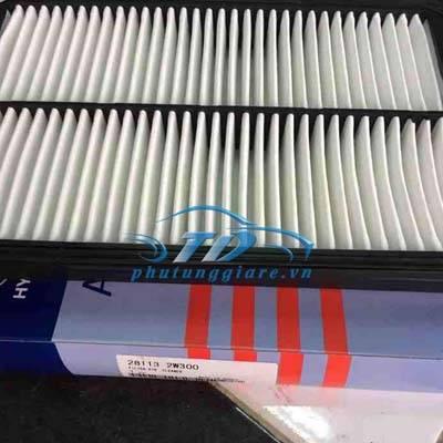 phutunggiare.vn - LỌC GIÓ ĐỘNG CƠ HYUNDAI SANTAFE 2008 MÁY DẦU-281132W300, sản xuất bởi Mobis