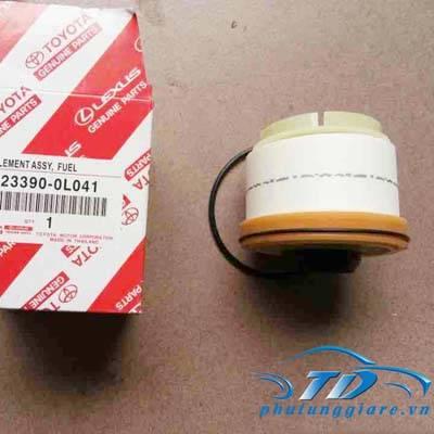 phutunggiare.vn - LỌC NHIÊN LIỆU TOYOTA FORTUNER, HILUX-233900L041, sản xuất bởi Toyota phụ tùng chính hãng, giá tốt nhất