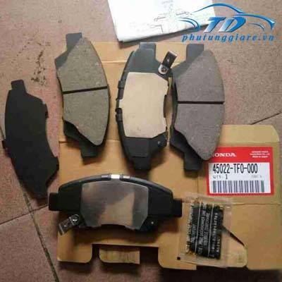 phutunggiare.vn - MÁ PHANH TRƯỚC HONDA CRV, CITY 2015-45022TF0Y00, sản xuất bởi Honda, phụ tùng chính hãng, giá tốt nhất