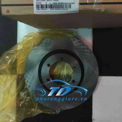 phutunggiare.vn - ĐĨA PHANH TRƯỚC HYUNDAI TERRACAN-51712H1000, sản xuất bởi Mobis, phụ tùng chính hãng, giá tốt nhất