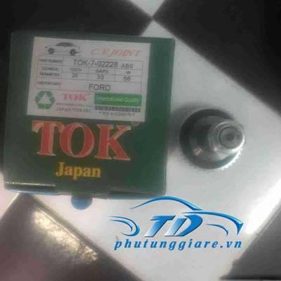 phutunggiare.vn - ĐẦU LÁP PHỤ FORD ESCAPE-TOK-7-02228, sản xuất bởi TOK phụ tùng chính hãng, giá tốt nhất
