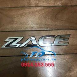 phutunggiare.vn - CHỮ ZACE XE TOYOTA ZACE - KS2609192